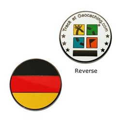 Country Micro Geocoin - Deutschland