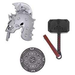 Geocaching Warrior Set - Hammer, Helm und Schild