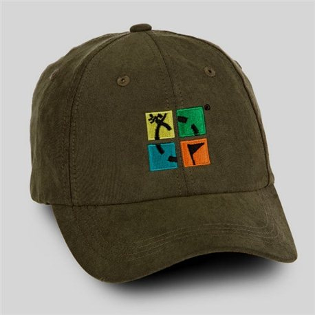 Hat Groundspeak Ammo Green with Logo