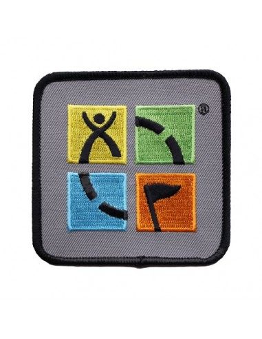Geocaching Logo Patch Aufnäher Full Color