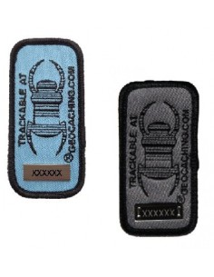 Travel Bug Patch Aufnäher trackable