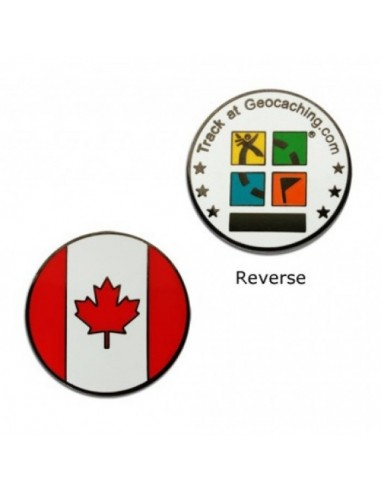 Country Micro Geocoin - Kanada