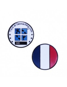 Country Micro Geocoin - Frankreich