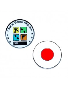 Country Micro Geocoin - Japan