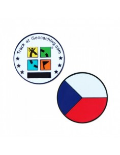 Country Micro Geocoin - Tschechische Republik