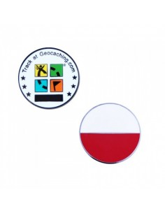 Country Micro Geocoin - Polen