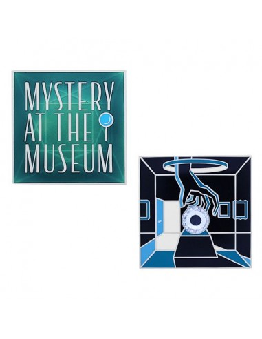 Mystery at the Museum Geocoin und Tag Set