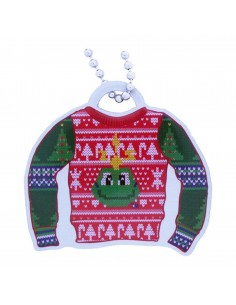 Ugly Sweater Travel Tag