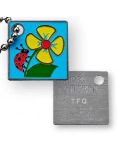 Travel Flower Travel Tag