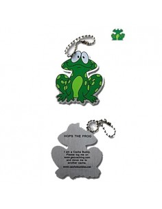 Hopps der Frosch Geocaching Travel Tag