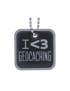 I love Geocaching Travel Tag
