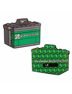 Ammo Can Brick LEGO® Art Geocoin