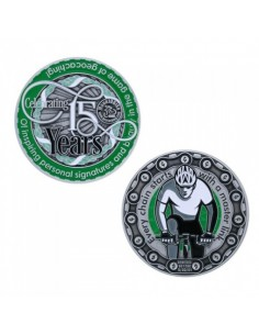 Moun10Bike 15 Year Tribute Geocoin