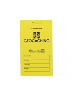 Groundspeak Geocaching Logbuch Rite in the Rain RITR Small