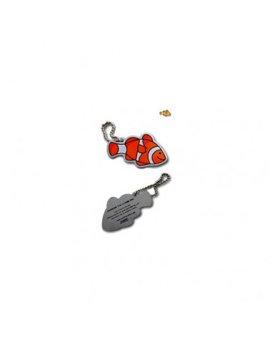 Anome der Clown Fish Travel Tag
