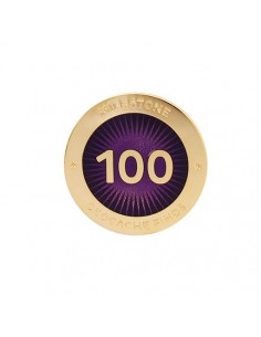 Milestone Pin 100 Funde