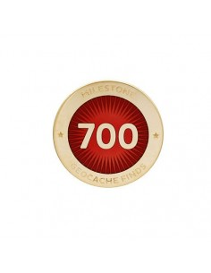 Milestone Pin 700 Funde