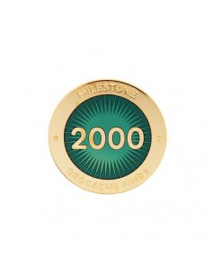 Milestone Pin 2000 Funde