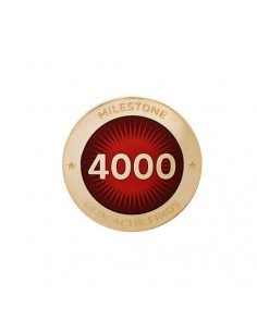 Milestone Pin 4000 Funde