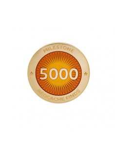 Milestone Pin 5000 Funde