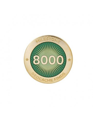 Milestone Pin 8000 Funde