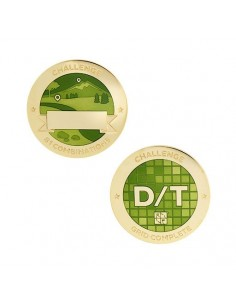 D/T Wertung - Challenges Geocoin Set mit Tag
