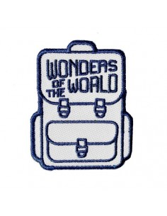 Wonders of the World Passport Patch