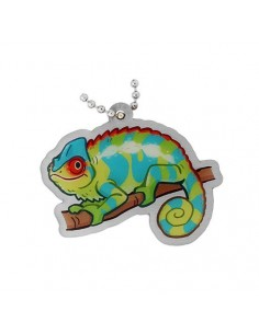Geopets DNF the Chameleon Travel Tag