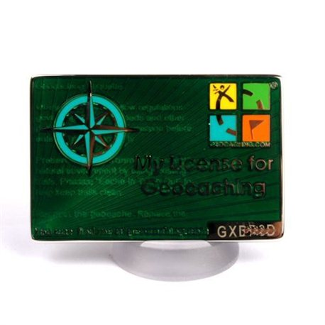 My Geocaching License Grün