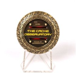 Cache Observatory Antik Bronze RE Geocoin