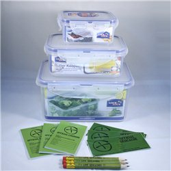 Lock & Lock Triple Cache Container Set